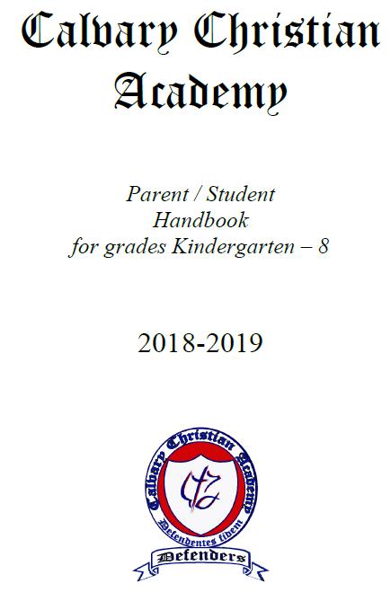 K-8 Handbook